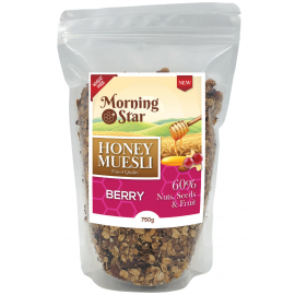 MorningStar Honey Muesli Berry 750g