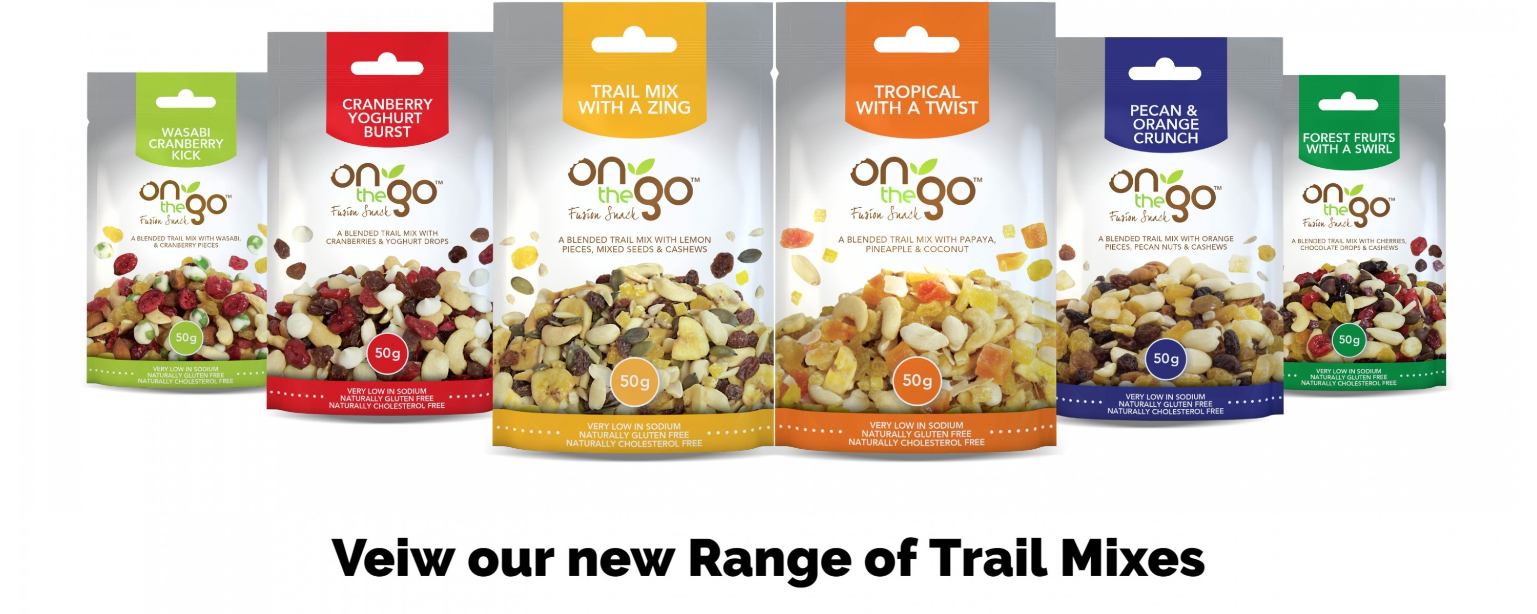 Blended Trail Mixes