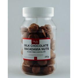 Milk Chocolate Macadamia Nuts sugar-free 250g