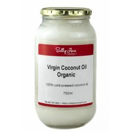 Coconut Oil Organic, Virgin, Cold-Pressed 750ml