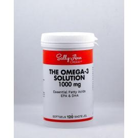 Omega-3 Solution x 120 fish oil capsules