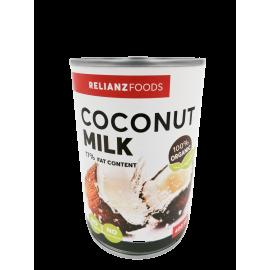 Relianz Coconut Milk Organic 17% 400ml